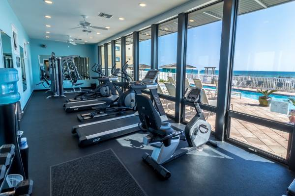 Destin Beach front gym - Work out room